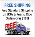 Get FREE Standard Shipping on your order over $75 in the continental USA, Alaska, Hawaii and Puerto Rico!