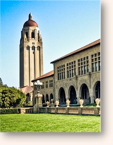 Stanford University's Hoover Tower.